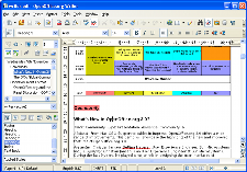 Writer screenshot